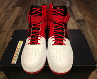 Nike Air Force 1 High '07 LV8 Atlanta Away White Red Mens sizes BV7459 100