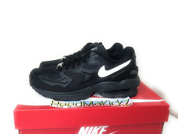 Nike Air Max2 Light Black Anthracite Mens AO1741 001