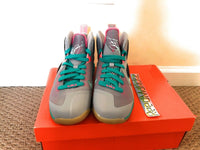 Nike Lebron 9 IX South Beach Miami Vice Grade School Youth size 5y 472664 006