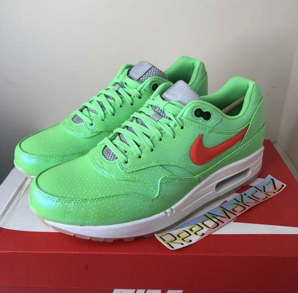 Nike Air Max 1 FB Premium Mercurial Lime Mens 665874 400