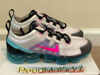 Nike Air Vapormax 2019 Southbeach Platinum Pink Blast womens sizes AR6632 005