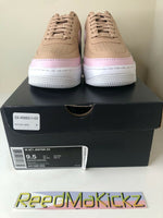 Nike Air Force 1 Jester XX Beige Pink Womens AO1220 202