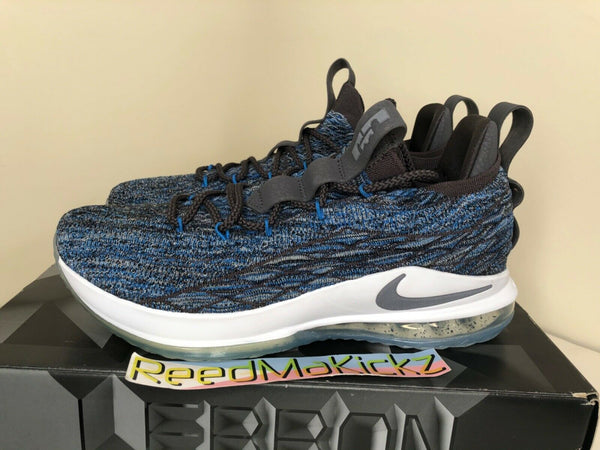 Nike Lebron 15 XV Low Signal Blue PRE OWNED Mens size 10us AO1755 400