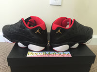 Nike Air Jordan XIII 13 Retro Low 2015 Bred Black Red Mens sizes