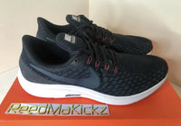 Nike Air Zoom Pegasus 35 Black Armory Navy Mens 942851 017