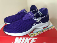 Nike Air Woven Court Purple White Black Mens 312422 500