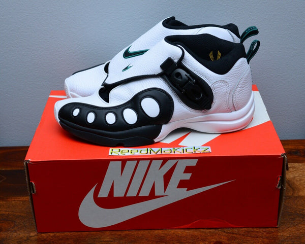 Nike Zoom GP OG Retro Gary Payton White Black Mens sizes AR4342 100