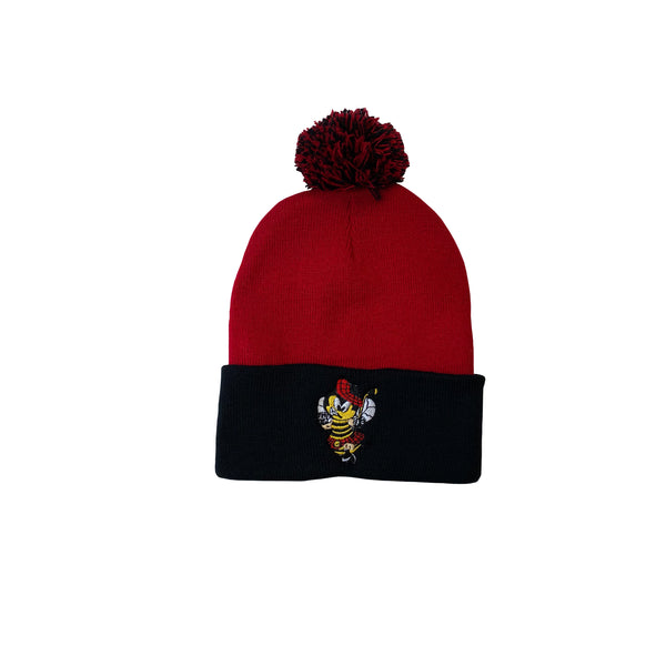 Kilty B's Pom Pom winter hat