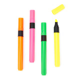 HIGHLIGHTERS, ESPO Smartbuy, Pen Style, 4 Assorted Colours, Assorted, Pack of 4