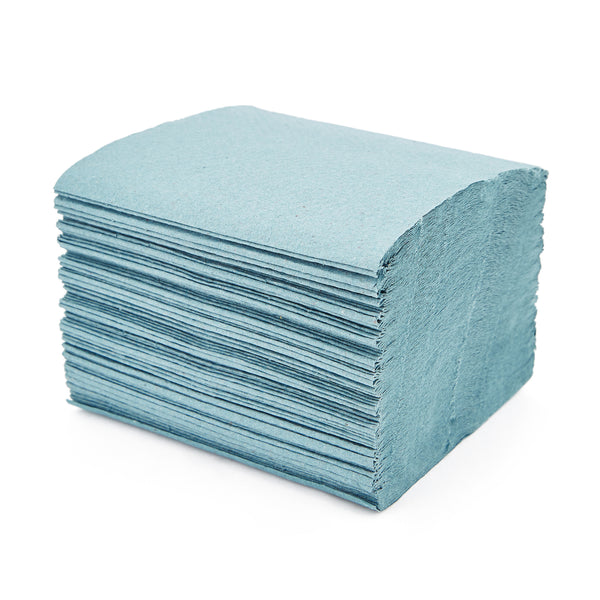 HAND TOWELS, MINI BLUE HAND TOWELS, Case of 10000 Sheets