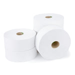 GIANT TOILET ROLLS, 2 Ply, 77mm core, Case of 6 Rolls