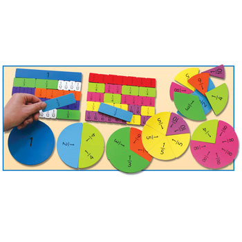 MAGNETIC FRACTION BUILDERS, Set of 106 pieces
