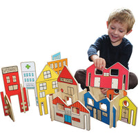 HAPPY ARCHITECT TOWN, Age 3+, Set of 26 pieces