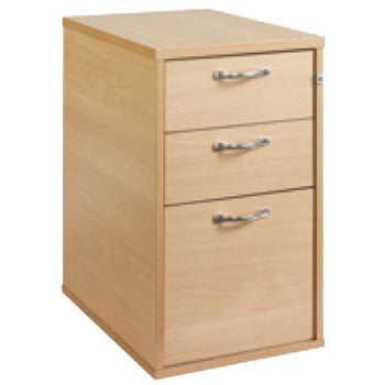 DRAWER UNITS, Desk Height, 600mm depth, Maple