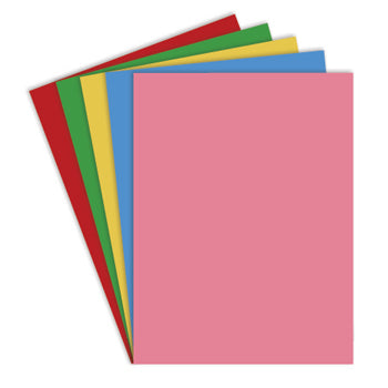 ASSORTED MIXED CARD, A4, 380 micron, Pack of 100 sheets