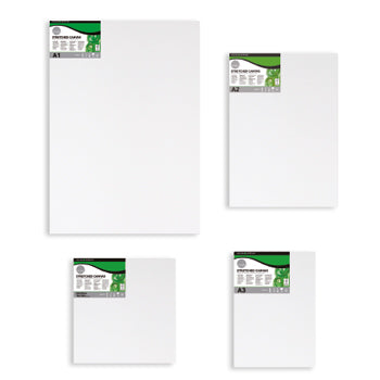 CANVASSES FOR OIL & ACRYLIC PAINTS, Daler-Rowney Simply Stretched Canvas, 400 x 400mm, Each