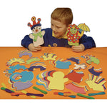 MAKE A STICK PUPPET, Pack of 60