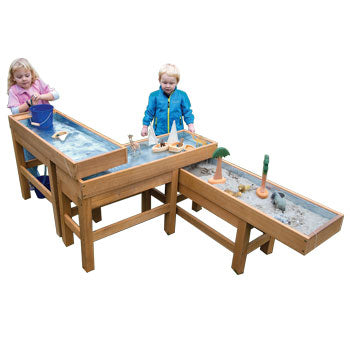 OUTDOOR WATER & SAND TABLE, Age 3+, Each