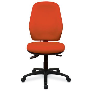POSTURE CHAIRS, DELUXE WITH FULL BACK SUPPORT, Without Arms, Tarot, COMBINED OFFICE INTERIORS LTD