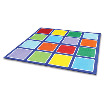 KIT FOR KIDS,, RAINBOW(TM) PLACEMENT CARPETS, SQUARES, 2000 x 2000mm, Each