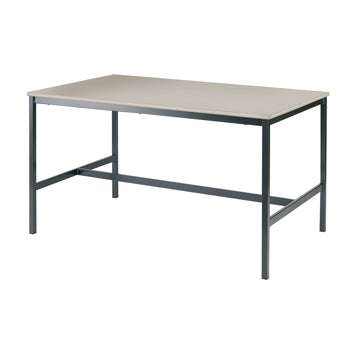 SCIENCE & ART TABLES, HOUSECRAFT TABLE, 1200 x 600mm, 850mm height, White