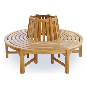 LEISURE BENCH OUTDOOR FURNITURE, Round Tree Seat, Large, 2150mm dia., Each