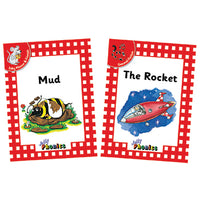 JOLLY PHONICS, JOLLY READERS, Level 1, Set of 18