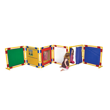 PLAY PANEL SERIES, PLAY PANEL SERIES, 6 ACTIVITY PANELS, Square Panel, 12 months+, Set of 6