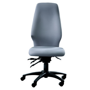POSTURE CHAIRS, PREMIUM WITH INTEGRAL SEAT SLIDE, Without Arms, Tarot, COMBINED OFFICE INTERIORS LTD