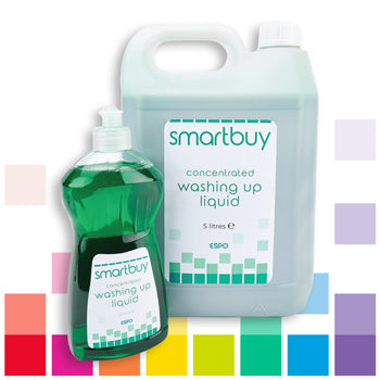 Smartbuy, CONCENTRATED WASHING UP LIQUID, Case of 4 x 5 litres