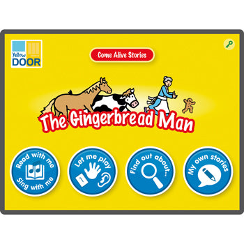 TRADITIONAL TALES APPS, The Gingerbread Man, 6 device licence, Each