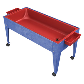 SAND AND WATER PLAY, ONE COMPARTMENT ACTIVITY TABLE WITH LID, Each