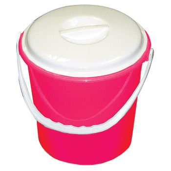 SYR CLEAN, BUCKETS AND WRINGERS, Colour Coded Bucket, 9 litres, Red, Each