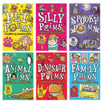POETRY PACK 2, Pack of 6