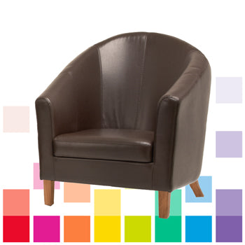 RESIDENTIAL SEATING, TUB CHAIR, Brown, CRAFTSMAN CONTRACT FURNITURE LTD
