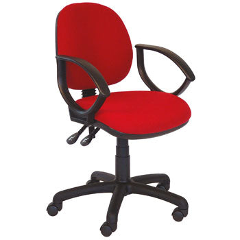 OPERATOR CHAIRS, Medium Back, With Fixed Arms, Tarot, OFFICE UPDATE LTD
