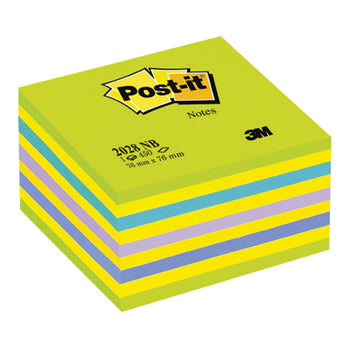 POST-IT(R) NOTE CUBES, Dream, 76 x 76mm, 450 Sheets, Each