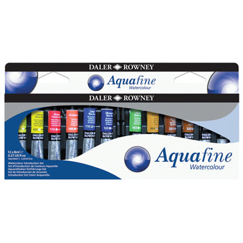 PAINT, WATERCOLOUR SETS, WINSOR AND NEWTON,, Tube Starter Pack, Pack of 12 x 8ml
