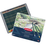 ARTIST'S COLOURED PENCILS, Derwent Artists, Pack of 24