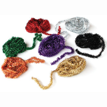 PIPE CLEANERS, MINI TINSEL, Pack of 7