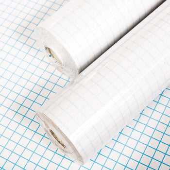 BOOK COVERING MATERIAL, Transparent, Polypropylene 25m rolls, 330mm wide, Each
