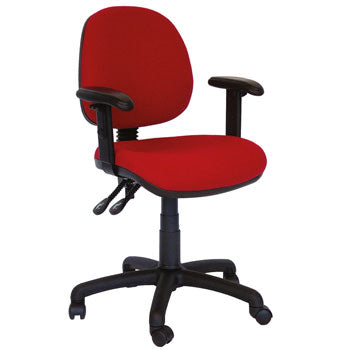 OPERATOR CHAIRS, Medium Back, With Height Adjustable Arms, Tarot, OFFICE UPDATE LTD