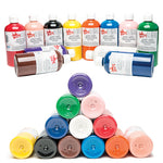 PAINT, READY MIXED WASHABLE, Standard Brights, Peach, 500ml