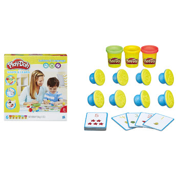 PLAY-DOH SHAPE & LEARN SETS, Letters & Numbers Set, Age 2+, Set