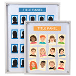 PICTURE FRAMES, MAGNETIC STAFF PROFILE BOARD, Magnetic Sheets 152 x 100mm (6'' x 4''), Pack of 10