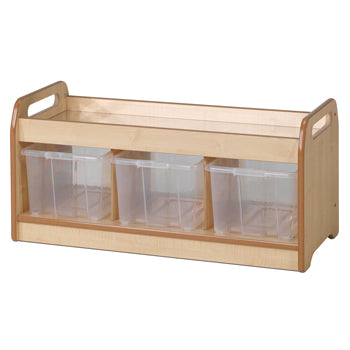 Millhouse  EXPLORER ZONE, LOW MIRROR PLAY UNIT, With 3 Clear Tubs