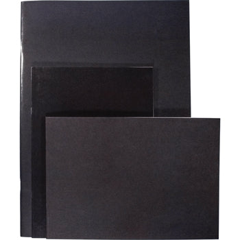 BOOK, SKETCH, STAPLED, Glossy Cover Black, A3 Portrait, Pack of 25