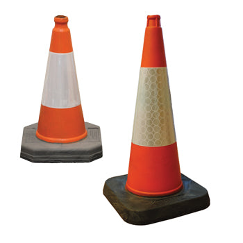 TRAFFIC CONES, Road Hazard, Height 500mm, Each