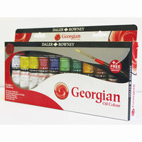 OIL COLOURS, Introductory Pack, Pack of 10 x 38ml