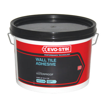 TILING, Wall Tile Adhesive, Tub of 2.5 litres
